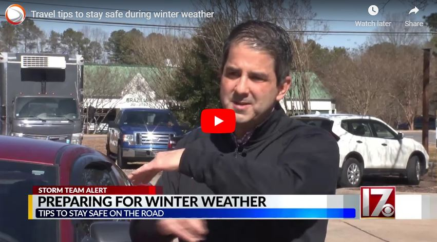 Travel tips to stay safe during winter weather