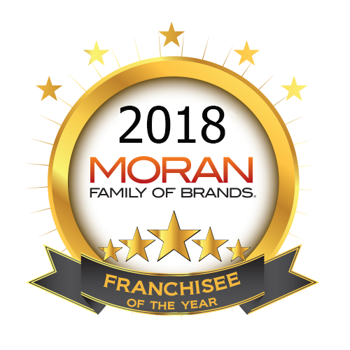 Moran Family of Brands Announces 2018 Franchisees of the Year